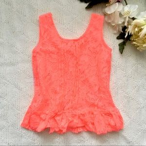 Other - Girls sz 7 Lace Top